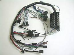1964 chevy impala ss under dash wiring harness with fusebox no ac 64 mustang wiring harness at Under Dash Wiring Harness