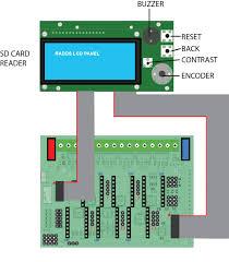 radds lcd display sd card for 3d printer reprap radds lcd display wiring diagram