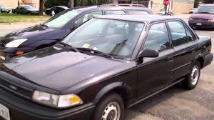 1990 Toyota Corolla Walkaround - YouTube