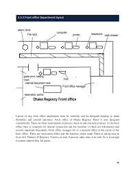 front office layout. Front Office Hierarchy Of Dhaka Regency Hotel; 48. 48 Layout N
