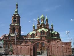 Храмы Челябинска Фото  фото храма Святой Троицы в Челябинске
