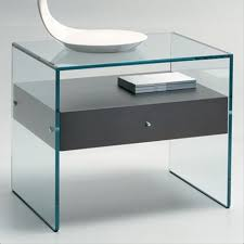 vegas white glass mirrored bedside tables. Tonelli Secret Glass Bedside Table Vegas White Mirrored Tables L