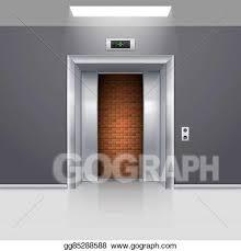 Half open door drawing Design Vector Art Half Open Chrome Metal Elevator Door With Deadlock Clipart Drawing Gg85288588 Gograph Vector Art Elevator Doors Clipart Drawing Gg85288588 Gograph