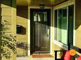 exterior dutch door with screen dutch doors orange county craftsman fiberglass exterior dutch door installed in