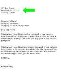 6 7 Properly Formatted Business Letter Developersbestfriend Com