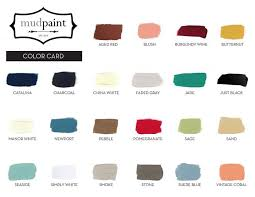 Miss Lillian S Chock Paint Color Chart Miss Lillians Chock Paint Colors