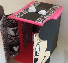 diy minnie mouse doll house repurpose savetheenvironment you