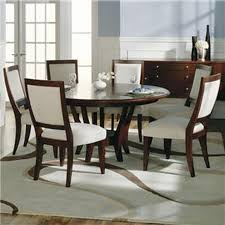 modern round dining table for 6 furniture 54 inch intended plan 14