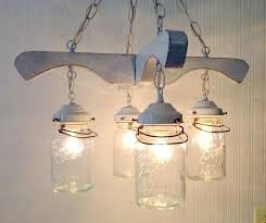 etsy lighting. Etsy Mason Jar Chandelier Farmhouse Light Lighting Listing At Ceiling Fan With Remote