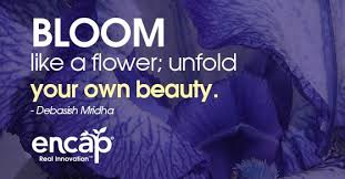 Bloom Like A Flower Quotes
