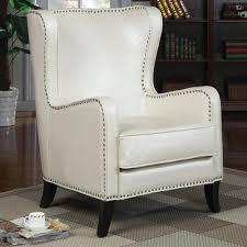 nailhead trim accent chair.  Nailhead Accent Seating Wing Chair With Nailhead Trim With Y