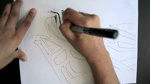 zaha hadid sketch
