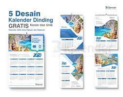 Download template kalender 2021 gratis lengkap dengan tanggalan masehi, hijriyah, jawa dan hari libur nasional format cdr, psd, ai, png hd dan pdf. 5 Desain Kalender Dinding 2020 Gratis Keren Dan Unik