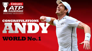 murray bees 26th player in history to hold no 1 in emirates atp rankings atp tour tennis