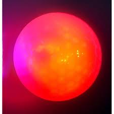 <b>15 piece</b> Super Bright Night Flyer <b>Glowing</b> LED Golf Ball Light on Red