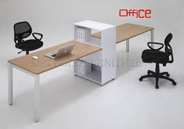 two person office desk. wooden office desk simple tabletwo person szod145 two r