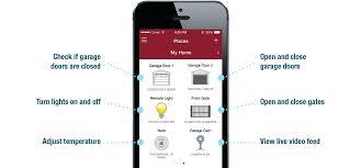 universal garage door opener app smartphone universal garage door opener app for android