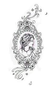 frame tattoo designs. Design Vintage Frame Tattoo Designs Ornate Simple Oval Bgbc A