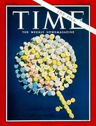 time magazine cover the pill apr society family  the birth control pill scientific symbol for female composed of birth control pills