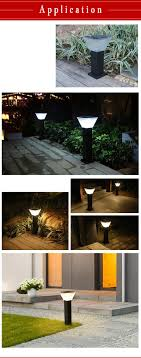 Solar Lights China Wholesale Outdoor Solar Bollard Light Round Manufacturers And