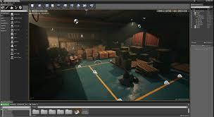 Unreal Engine Build Lighting Artstation Flickering Light With Unreal Engine 4 Kemal Gunel