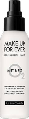 make up for ever mist fix setting spray