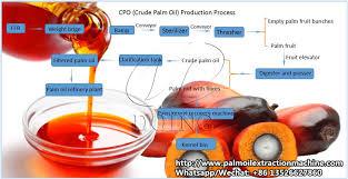 Process Flow Diagram Of Palm Oil Mill Plant_palm Oil