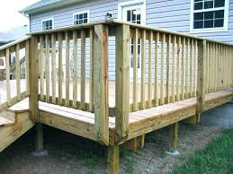 building decks how to build a deck introduction few home corner post railing degree double construction installing posts b71