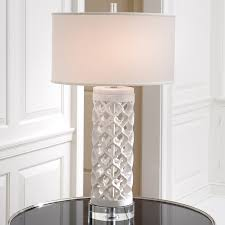 global views lighting arabesque round marble table lamp gv991906