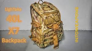 <b>40L</b> X7 <b>Tactical Backpack</b>: Full Review - YouTube