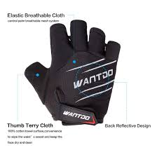 Wantdo Unisex <b>Half Finger Cycling Gloves</b>