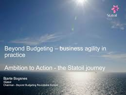 beyond budgeting business agility for new business and people realities