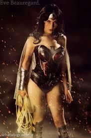 Captivating Fierce And Beautiful Wonder Woman Costume
