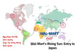 Wal-Mart's Rising Sun: Entry to Japan by agustina castillo on Prezi Next
