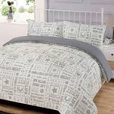 this modern letter press duvet set is light weight and silky to touch this easy care bed linen is an essential everyday purchase for every home as it