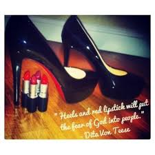Red Lipstick Quotes Cool Girl Heels Make Up Red Lipstick Quotes Via Tumblr