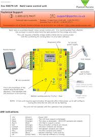 Paxton Access Multiformat Red Light 654943 Net2 Nano 1 Door Access Control Unit User Manual