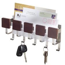 Gallant Description Together With Mail Organizer Storage Wall Mount Key Rack  Her Letter Espresso in Wall