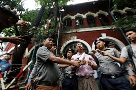dvb multimedia group democvoiceburma twitter judge in burma to decide next week on continuing trial against reuters journalists