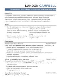 Marketing Manager Resume Custom Best Senior Marketing Communications Manager Resumes ResumeHelp