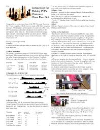 Instructions For Making Psi S Chessmen Chess Piece Set