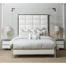 acrylic bedroom furniture. Modern White Acrylic 4 Piece King Bedroom Set - State St. | RC Willey  Furniture Store Acrylic Bedroom Furniture