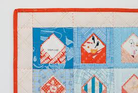 New Quilt Pattern: Envelopes. - carolyn friedlander & Fussy Cut Envelopes_detail_Carolyn Friedlander Adamdwight.com