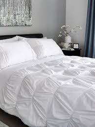 hotel collection easy care chichi duvet cover set white very co uk