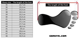 Otomix Size Chart 2019
