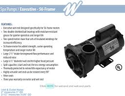 waterway executive 56 frame spa pumps aqua-flo pump wiring diagram at Waterway Executive 56 Wiring Diagram