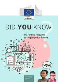 Design A Research Useful In Daily Life New Booklet Shows How Eu Research And Innovation Funding