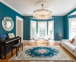 Antique View In Gallery Homedit 10 Living Rooms That Boast Teal Color