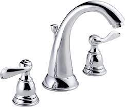 Delta Faucet B3596lf Windemere Widespread 9 05 X 11 35 X 14 00 Inches Chrome Touch On Bathroom Sink Faucets Amazon Com