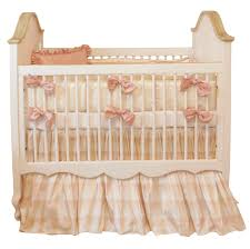 lulla smith stella crib silk bedding set